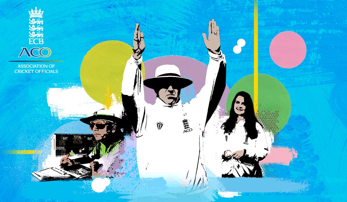 ECB Association of Cricket Officials logo